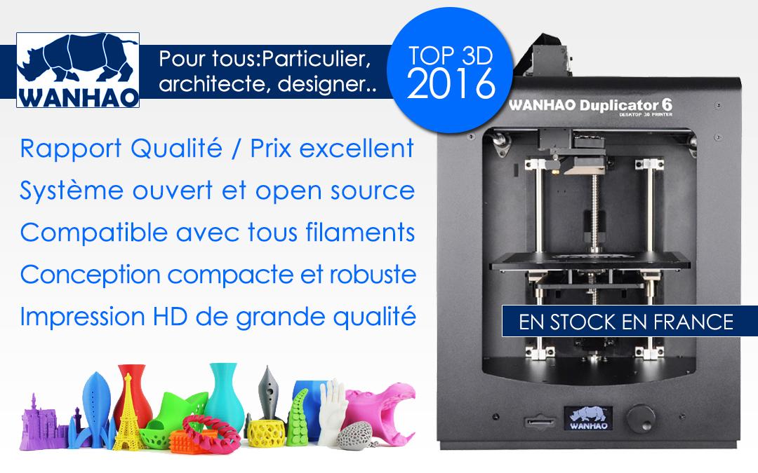 imprimante 3D Wanhao Duplicator 6 M200 Clone 3d printer 2016